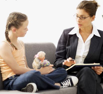 child benefits from counseling for traumatic stress disorder PHOTO